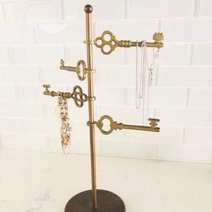 Jewelry - Gold Jewelry Stand